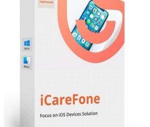 Icarefone registered key