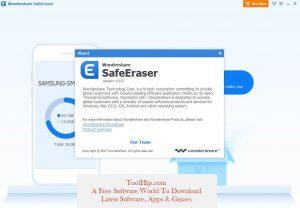 Wondershare Safe Eraser keygen Key