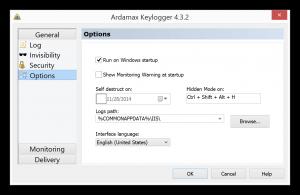 Ardamax Keylogger activation Key