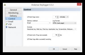 Ardamax Keylogger registered Key